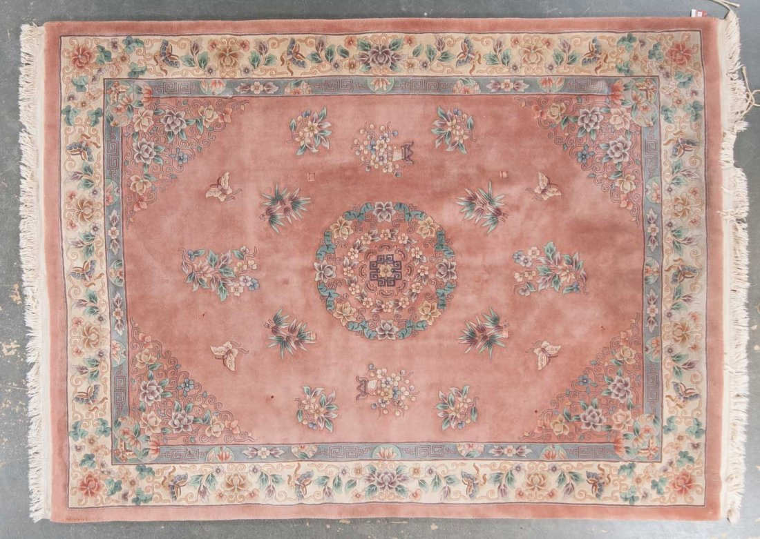90 line Chinese carpet, approx. 9 x 12