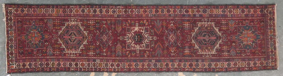 Persian Karaja runner, approx. 2.10 x 11.3