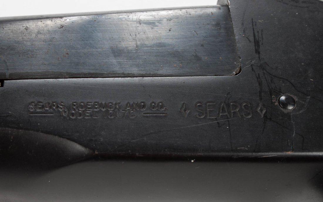 Sears Model 101.7C double barrel shotgun - 6
