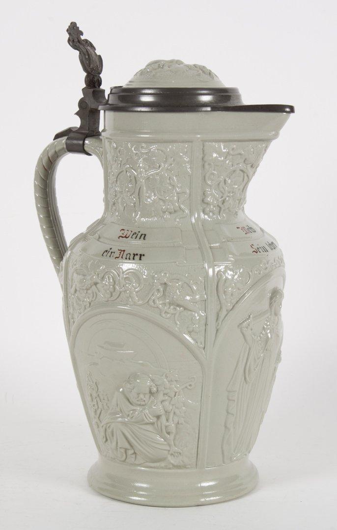 Villeroy & Boch salt glazed stoneware flagon