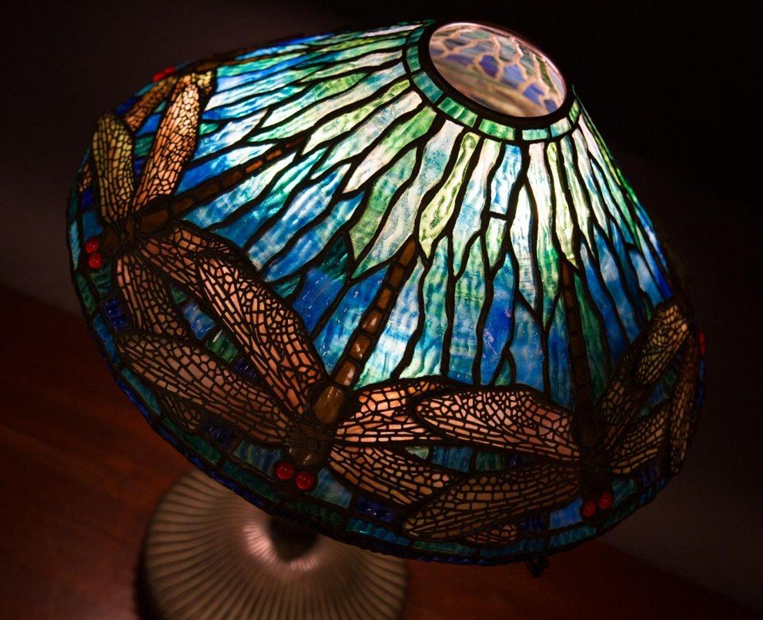 "Tiffany Studios ""Dragonfly"" lamp - 2"