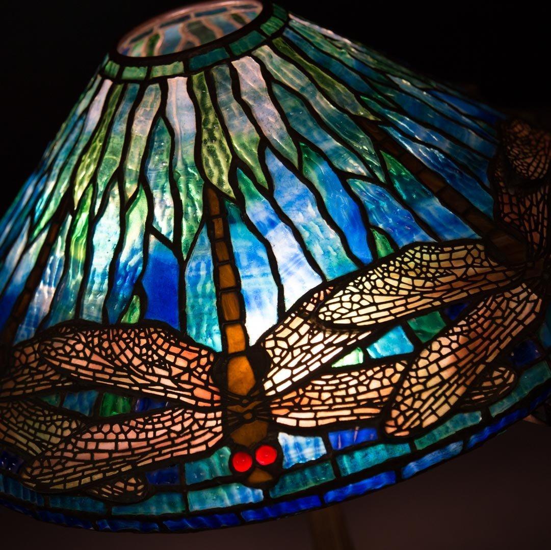 "Tiffany Studios ""Dragonfly"" lamp - 3"