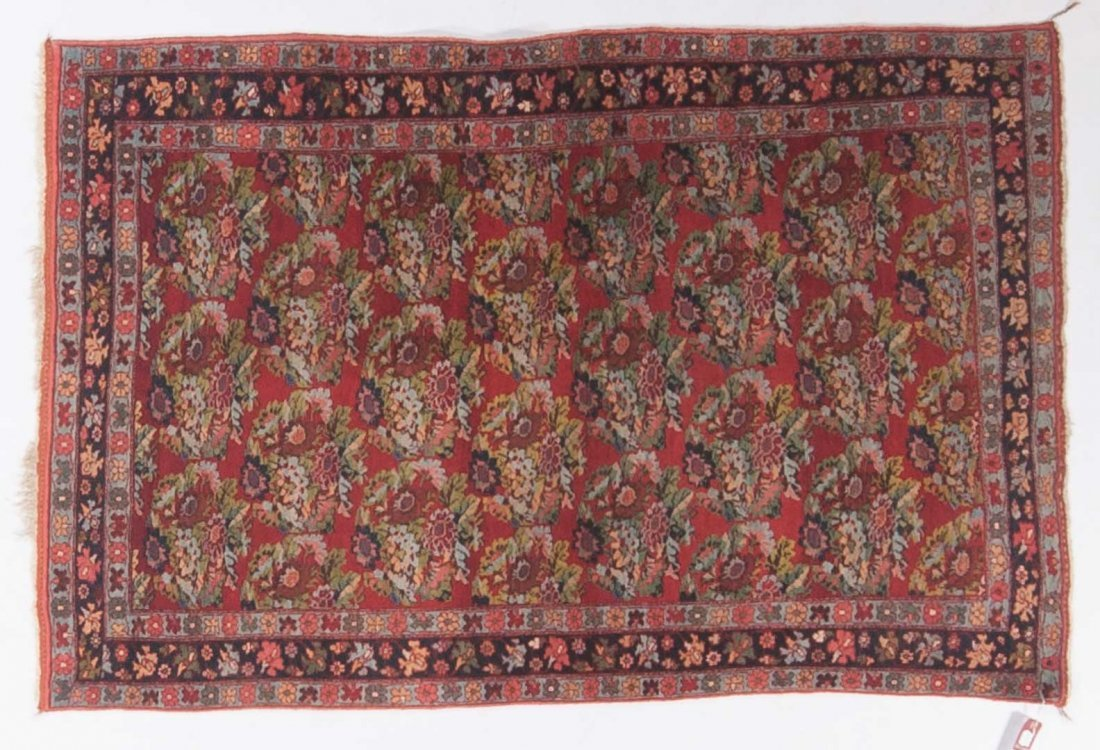 Antique Bijar rug, approx. 3.8 x 5.6
