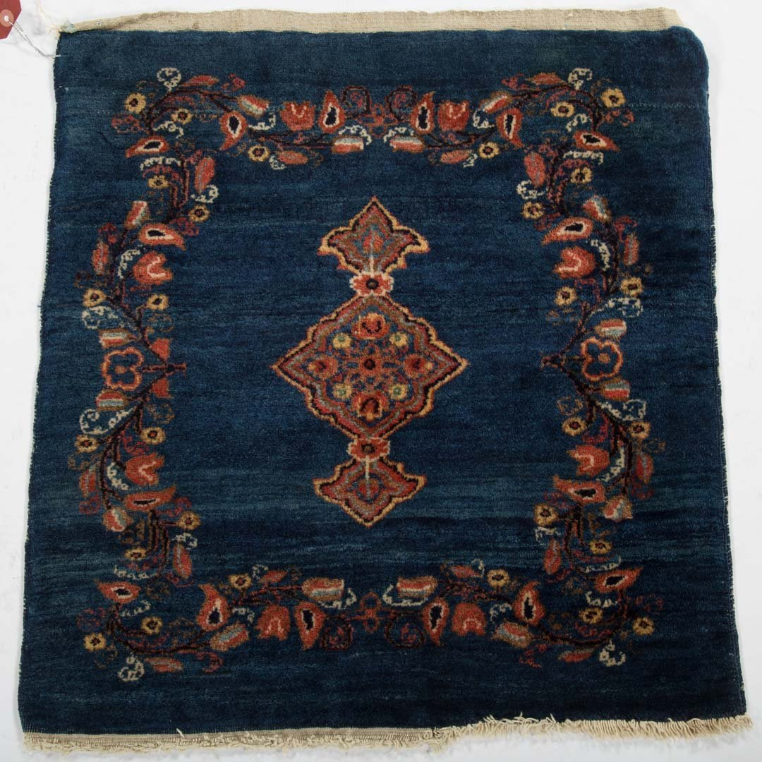 Antique Keshan scatter rug, approx. 2 x 2