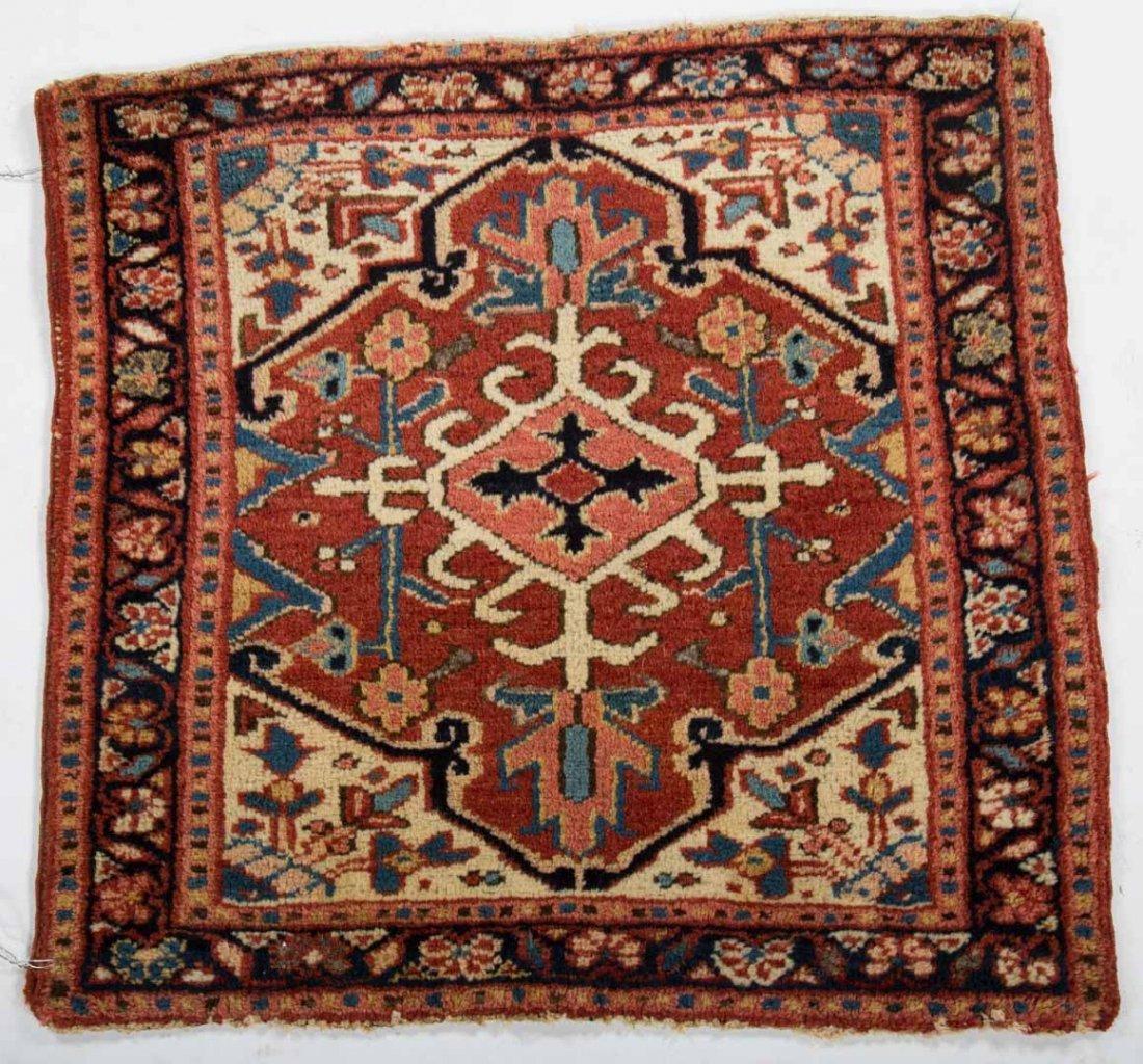 Antique Karaja scatter rug, approx. 2.1 x 2.4