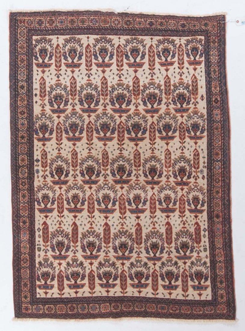 Unusual Antique Afshar [Zeli Sultan] rug, 3.6 x 5