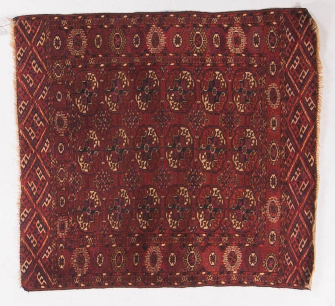 Antique Tekke Bohkara rug, approx. 3.6 x 3.8