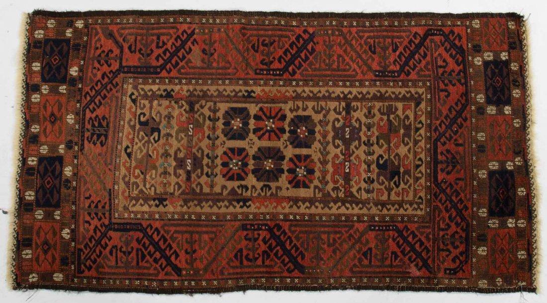 Antique Belouchistan rug, approx. 2.7 x 4.10