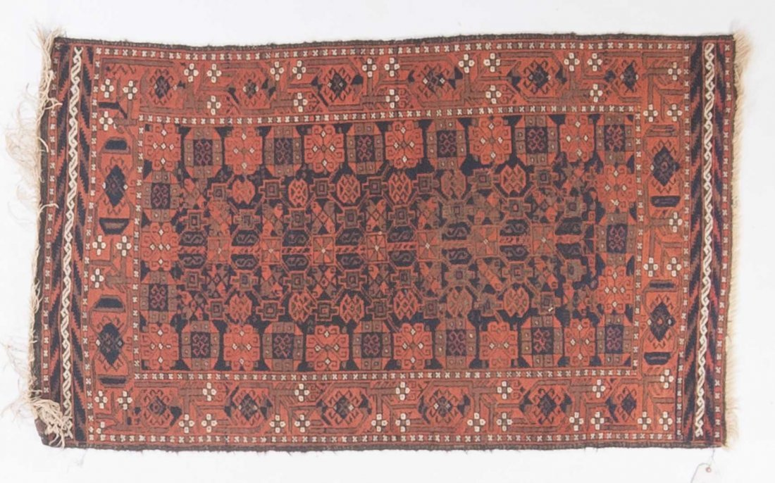 Persian Belouch rug, approx. 3 x 5.2
