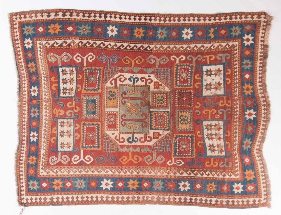 Antique Karachop Kazak rug, approx. 5.4 x 6.10