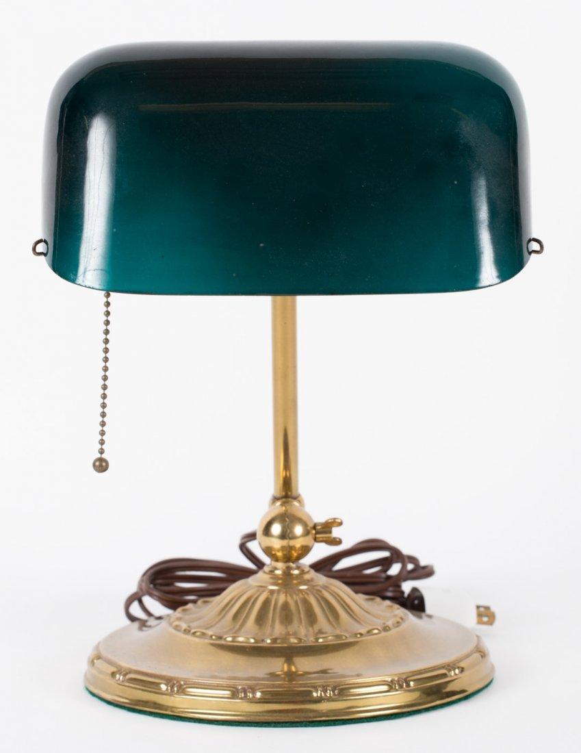 """""""Emeralite"""" No. 8734 desk lamp"""
