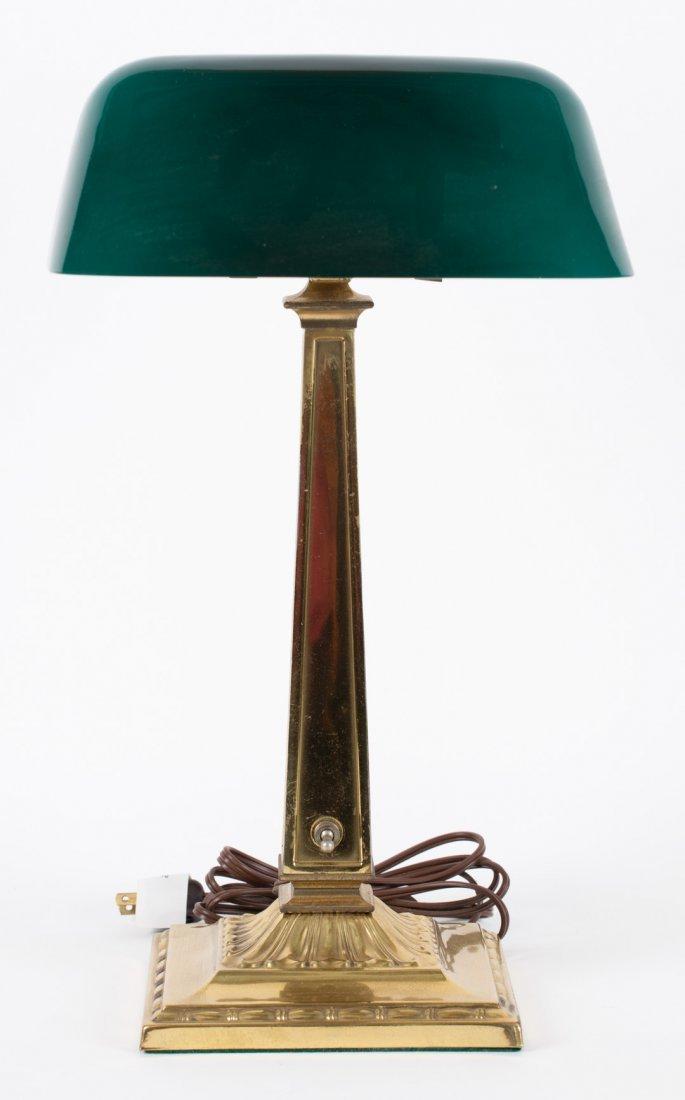 """""""Emeralite"""" No. 9 desk lamp"""
