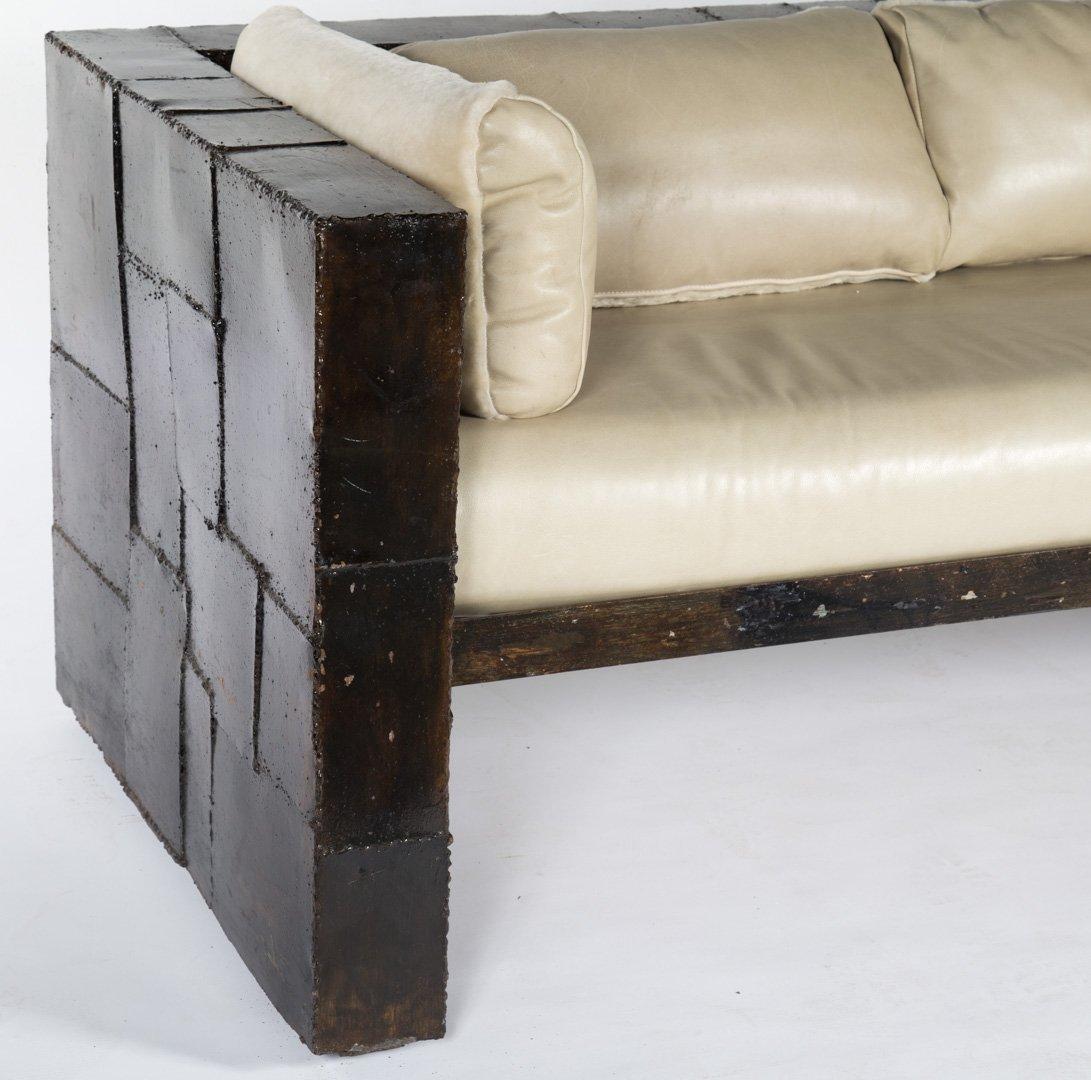 "Paul Evans welded steel ""Patchwork"" sofa - 2"