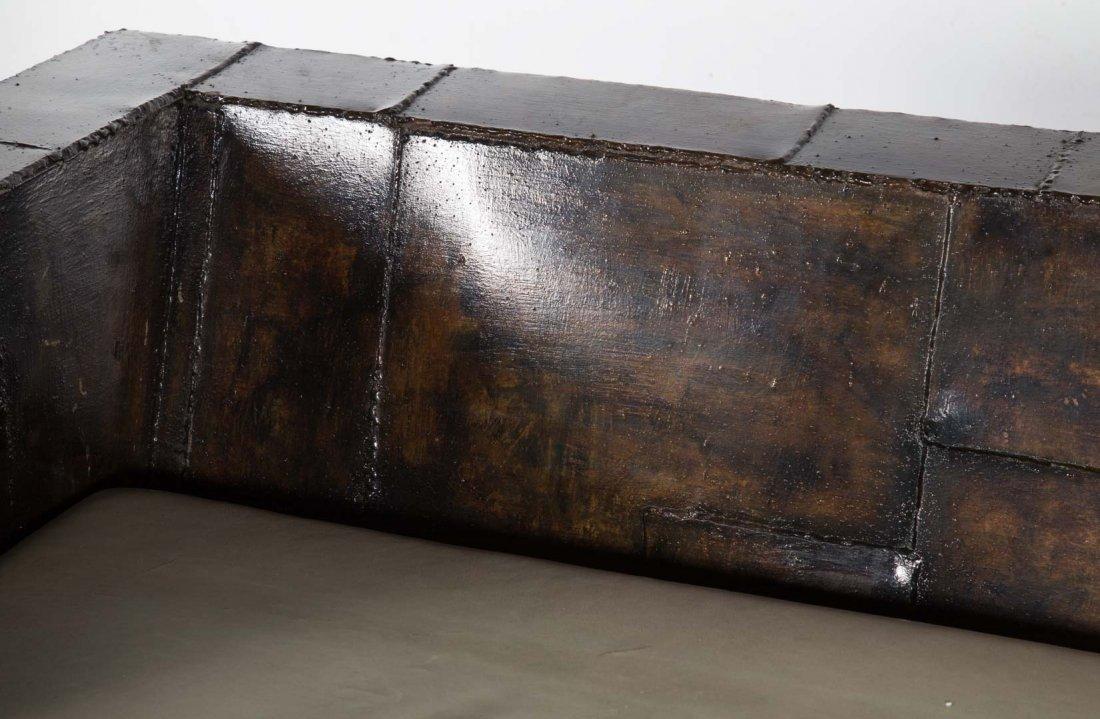 "Paul Evans welded steel ""Patchwork"" sofa - 4"