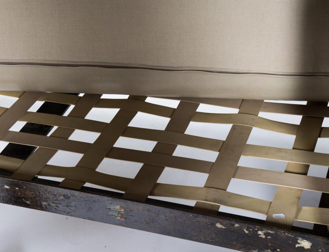 "Paul Evans welded steel ""Patchwork"" sofa - 5"