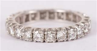 A Platinum  Diamond Eternity Band