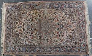 Persian Ispahan rug, approx. 3.6 x 5.3
