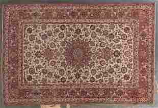 Ispahan rug, approx. 4.8 x 7.1