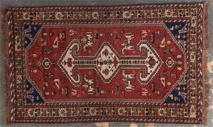 Antique Shiraz rug, approx. 4.2 x 7