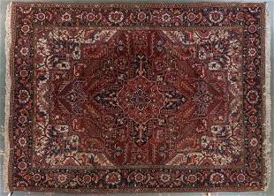 Persian Herez carpet, approx. 9.7 x 12.4