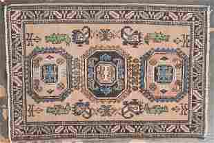 Persian Meshkin rug, approx. 3.8 x 5.4
