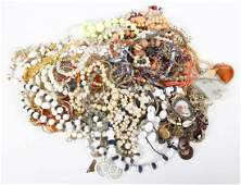 A Collection of Costume Jewelry