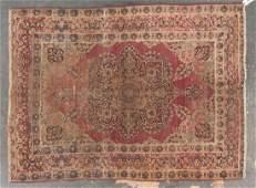 Antique Lavar Kerman rug, approx. 4.4 x 5.10