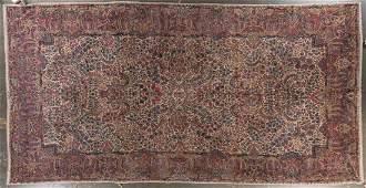 Fine antique Lavar Kerman carpet, approx. 10 x 18