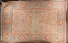 Turkish Oushak carpet approx 136 x 204