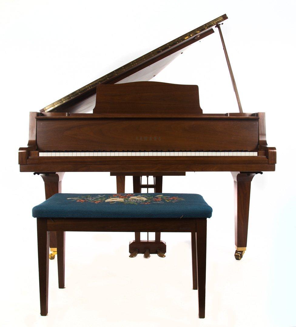 """Yamaha Model G1 """"Nippon Gakki"""" baby grand piano"""