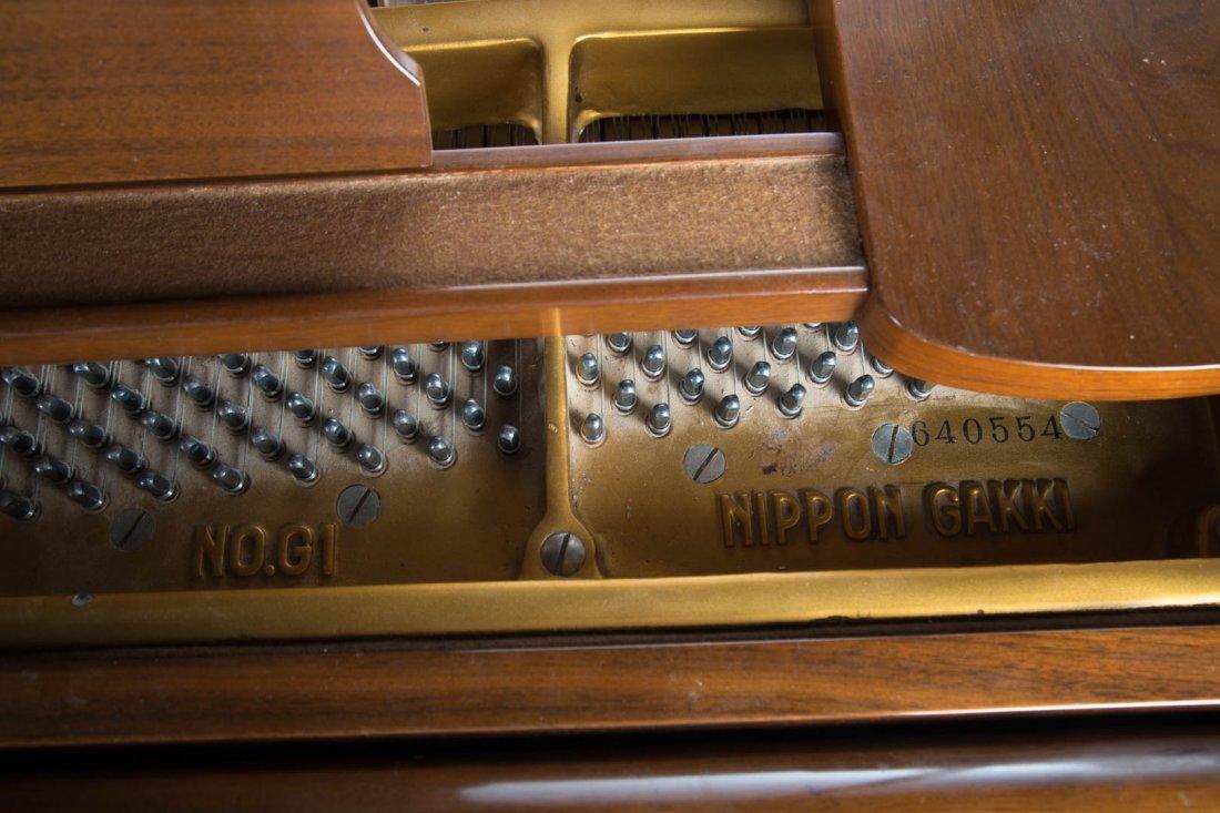 """Yamaha Model G1 """"Nippon Gakki"""" baby grand piano - 6"""