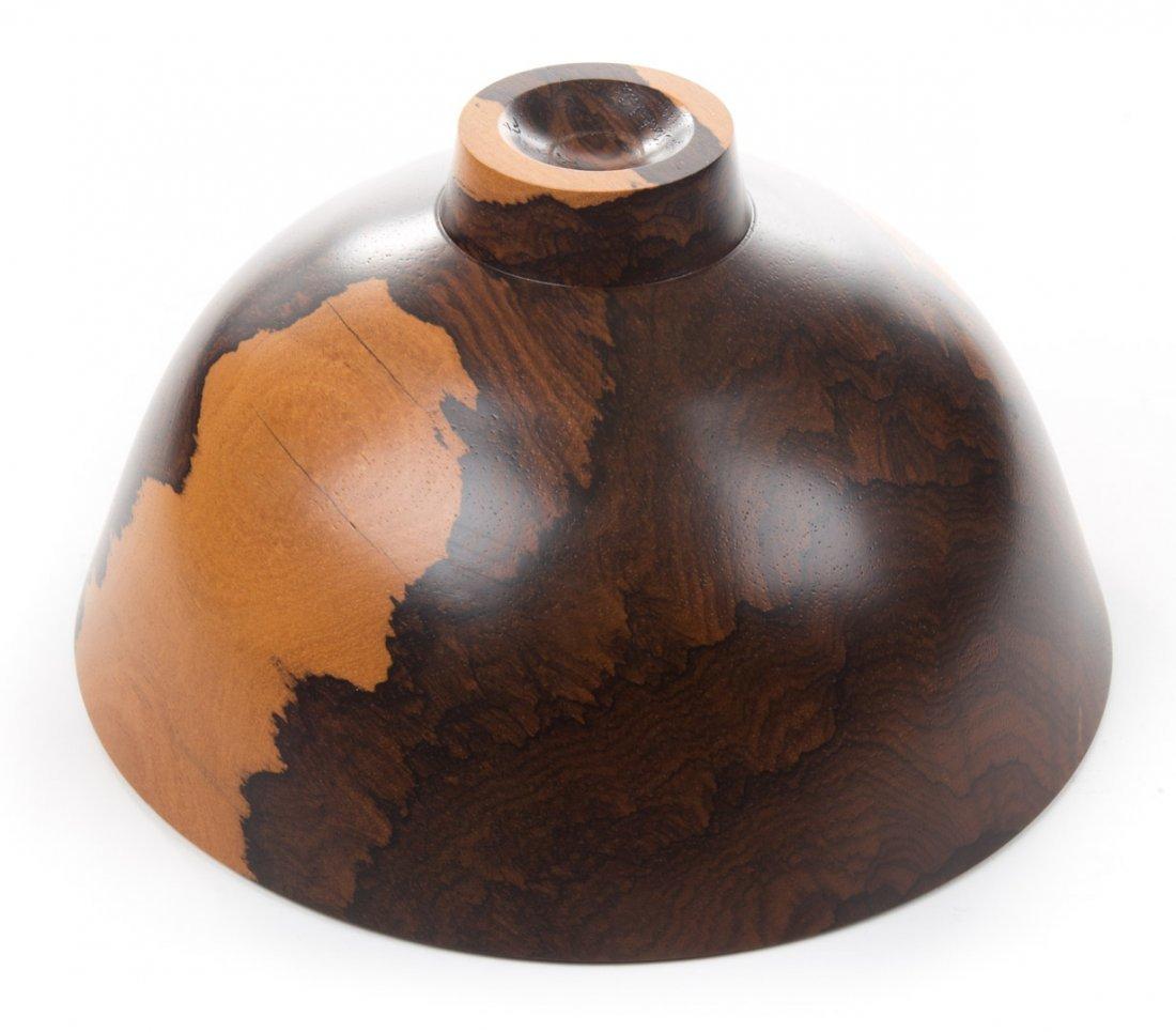 Bob Stocksdale, Ziricote from Belize, wood vessel - 3