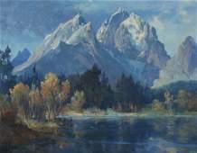 """Ralph Love. """"Temecula, California, oil on canvas"""