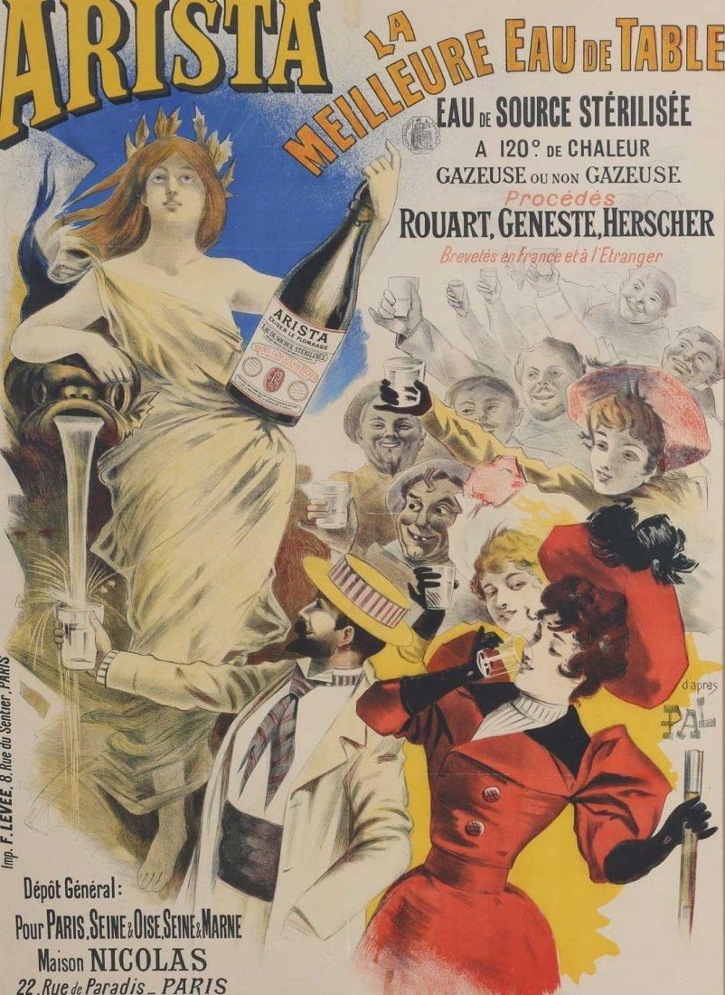 "Jean de Paleologue. ""Arista"", lithographic poster"