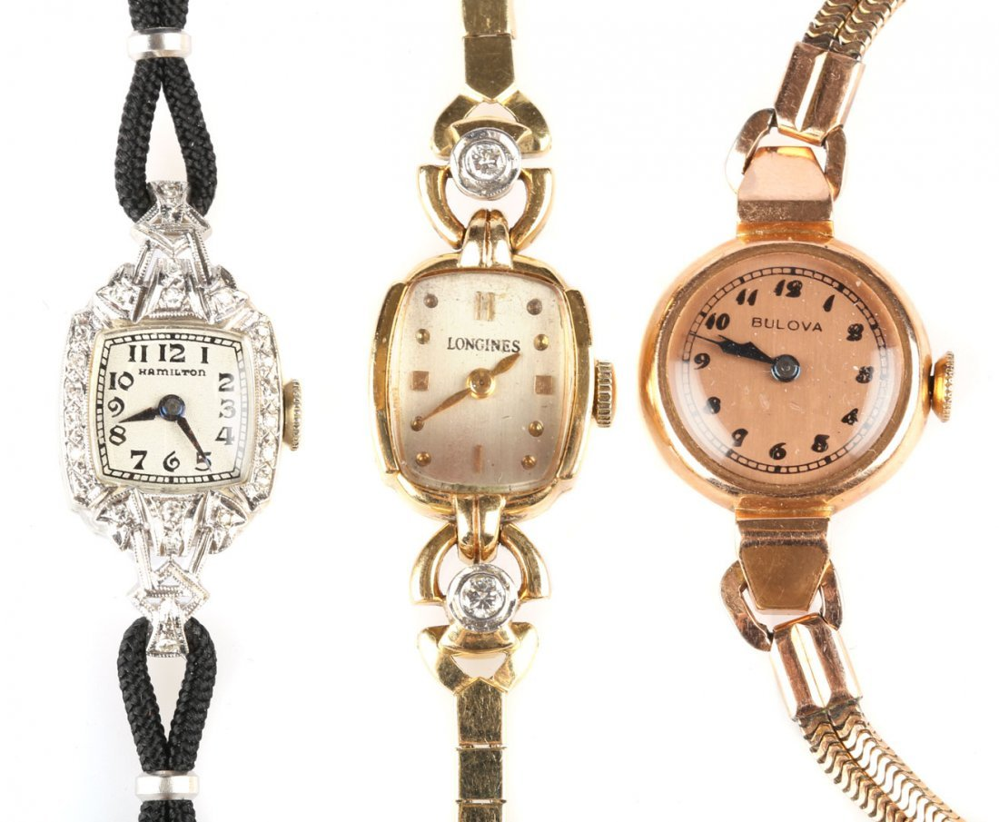A Trio of Lady's Watches