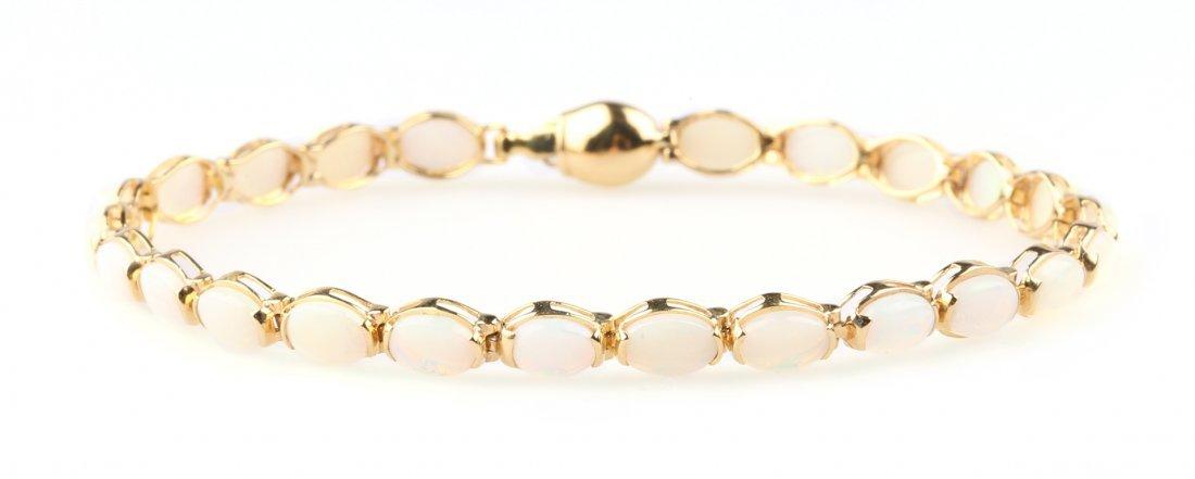 An Opal Bracelet