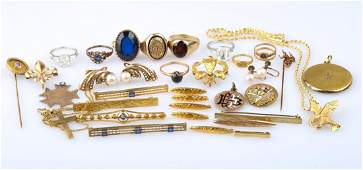 A Bag of Gold Jewelry