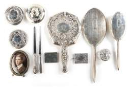 Miscellaneous American sterling silver items