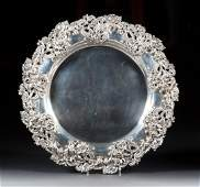 JE Caldwell sterling silver charger