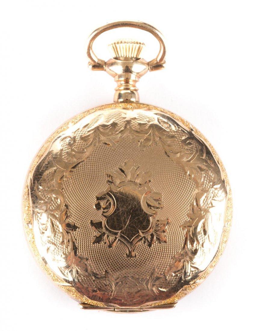 A 14K Waltham Pocket Watch