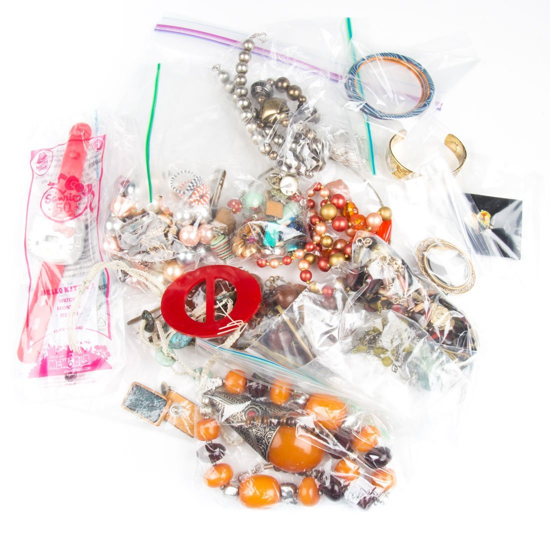 A Collection of Beads & Bangles