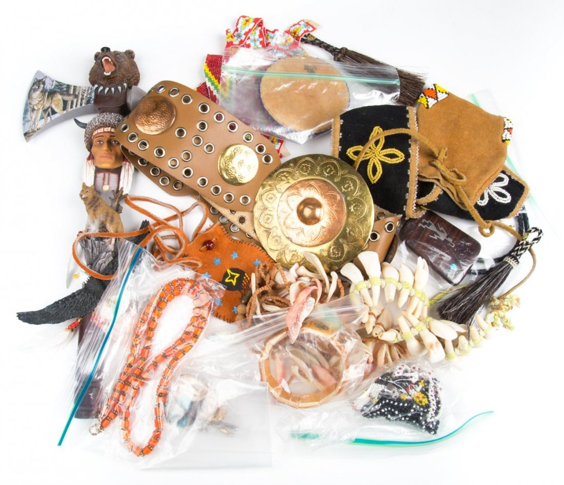 An Assortment of Native American Jewelry