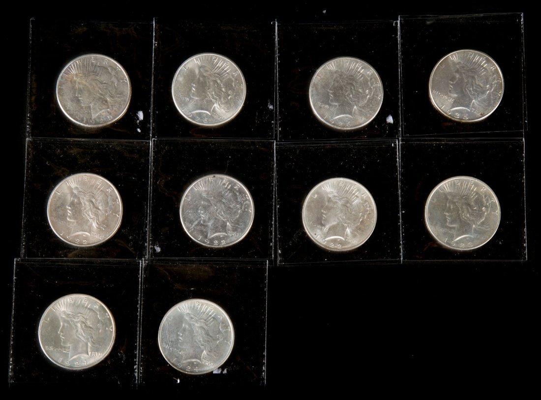 [US] 10- Peace Dollars