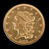 [US] 1834 $5 Classic Gold Head Half Eagle, Plain 4