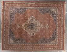 Indo Tabriz rug, approx. 8 x 10.1