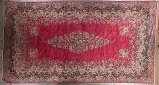 Antique Lavar Kerman carpet approx 113 x 203