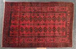 Semiantique Afghan Tribal rug approx 37 x 55