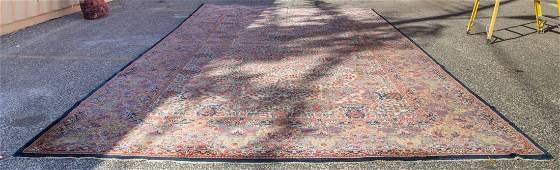 Antique Lavar Kerman carpet, approx. 11.5 x 20