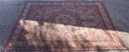 Antique Lavar Kerman carpet, approx. 9.2 x 12.2
