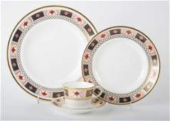 Royal Crown Derby china partial dinner service